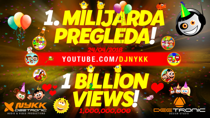 FIRST BILLION VIEWS